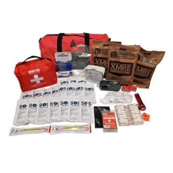 Deluxe 6 day 1 person emergency kit