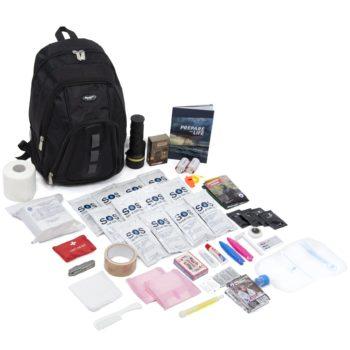 Basic 72 hour 1 person emergency kit