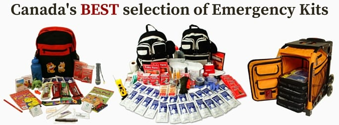Canada's Best Selection of Emergency Kits