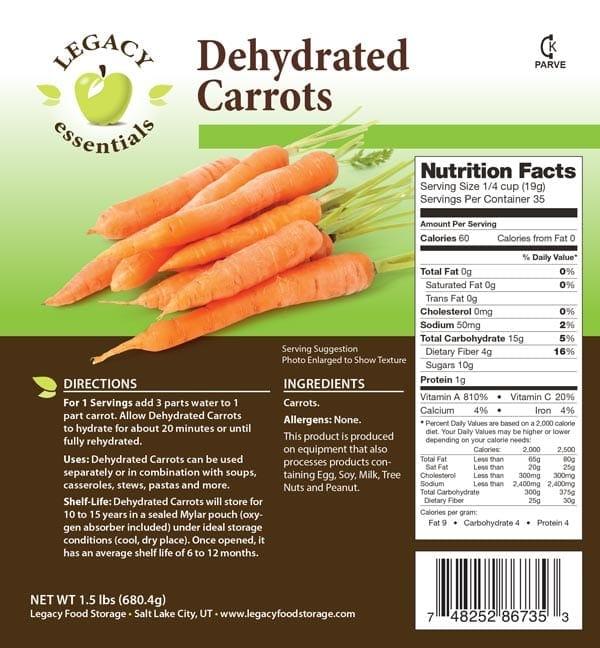 Carrots Label