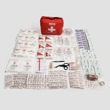 The Jumbo First Aid Kit's contents