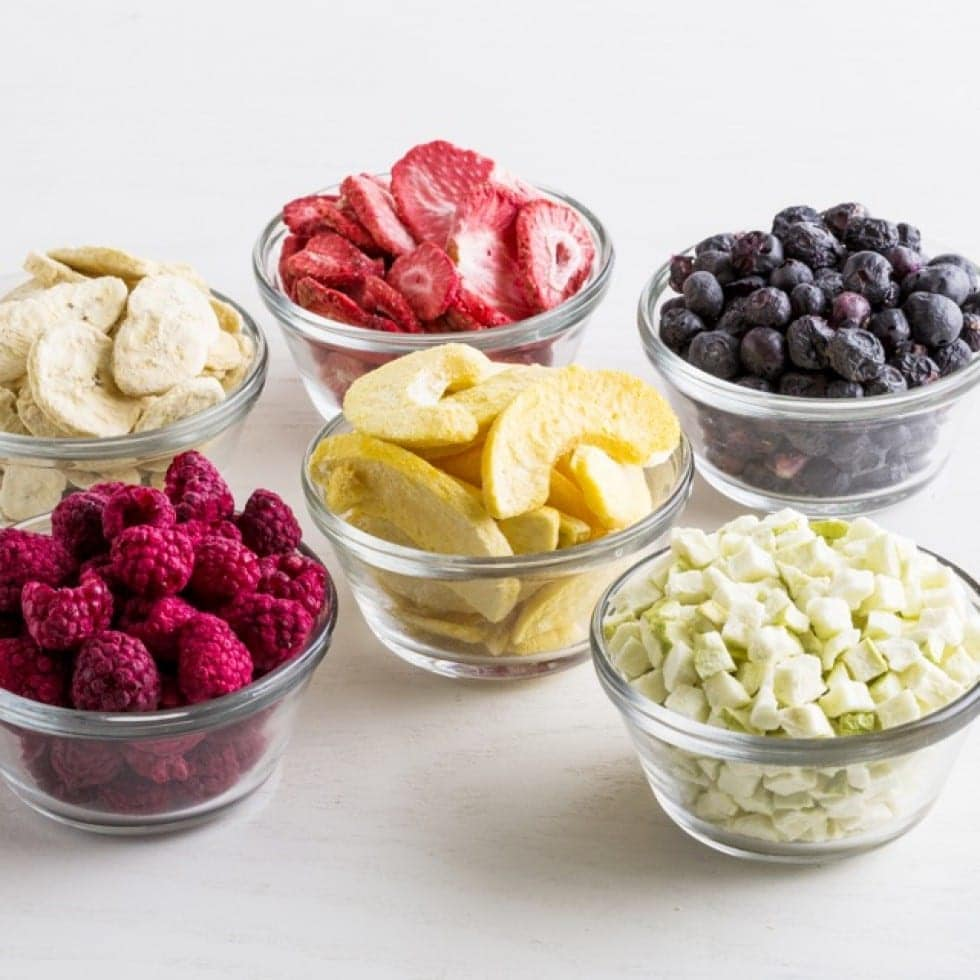 Freeze Dried Fruits, Veggies & Sides