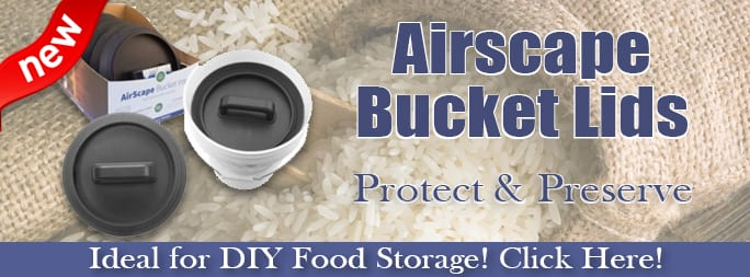 New! AirScape Bucket Lid