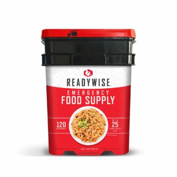 ReadyWise 12 Serving entree bucket