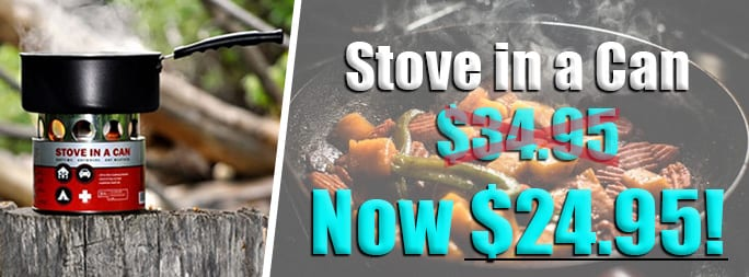 Stove in a Can Sale
