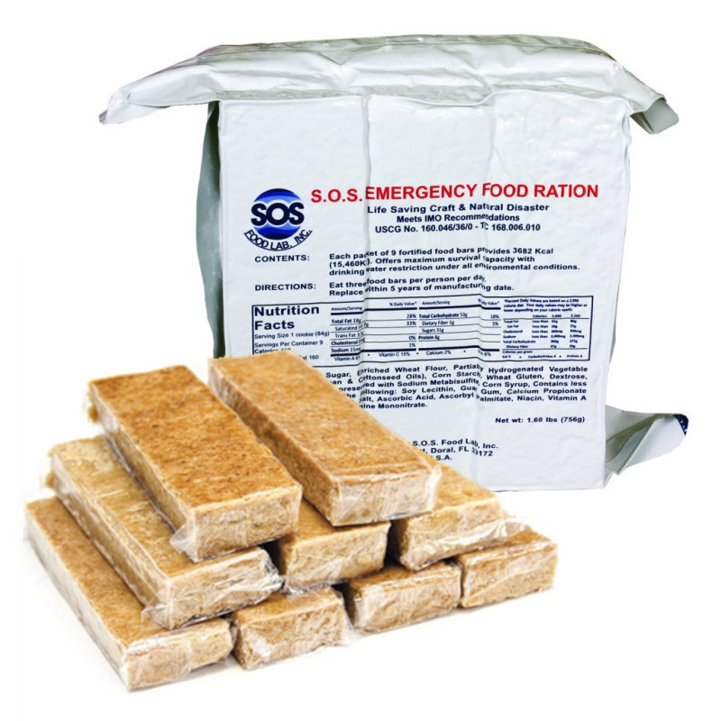 Emergency Food Ration Bars