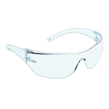 a pair of safety glasses