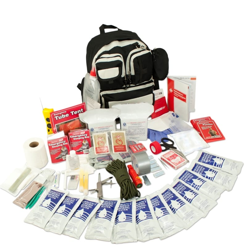 Urban 72 Hr Survival Kit 2 Person Total Prepare Inc