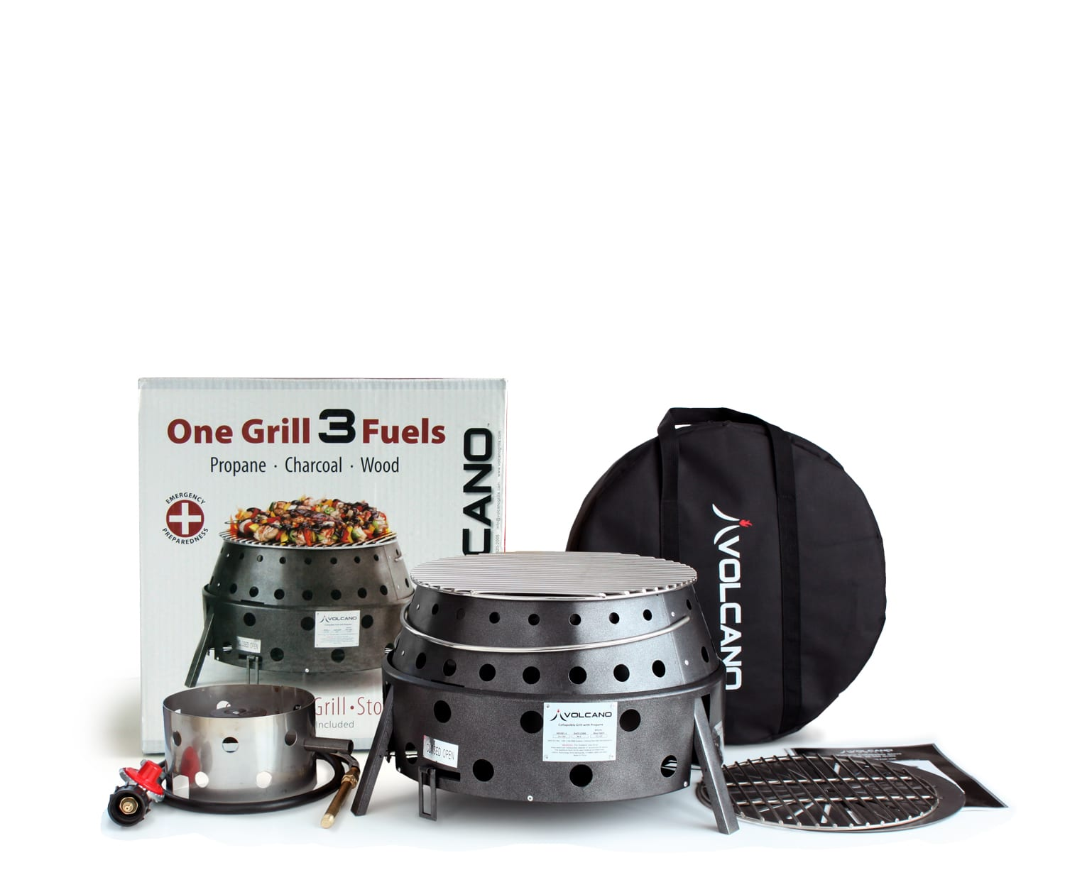 Volcano Collapsible Propane Grill