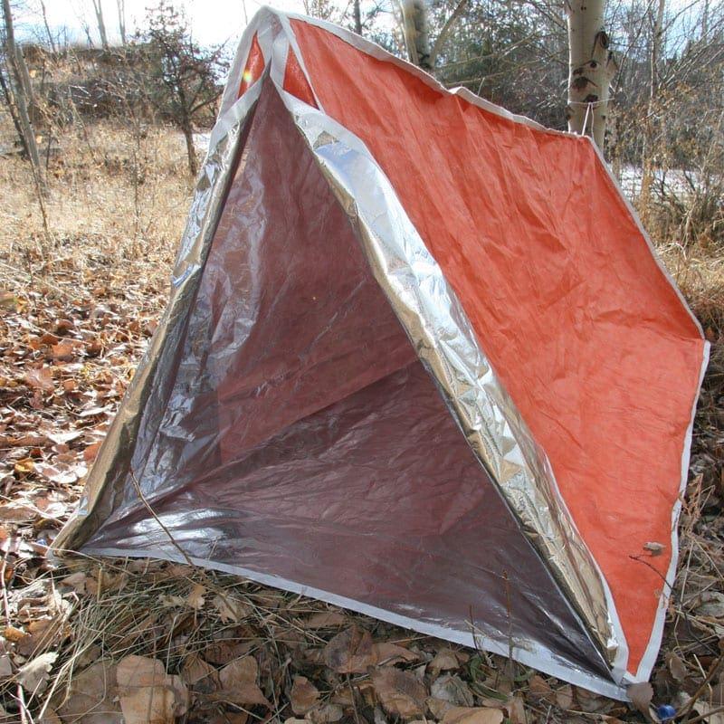 Emergency Shelter Tent : Heatstore survival shelter total prepare