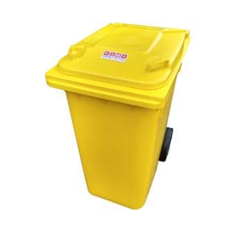 Yellow Rolling bin