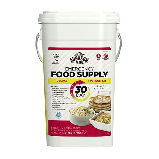 Augason Farms 30 day deluxe emergnency food supply