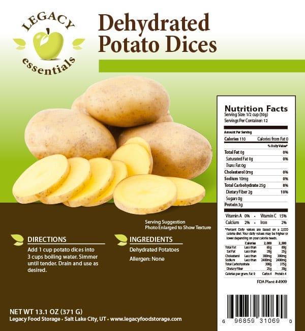 Potato Dices