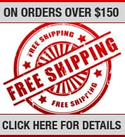 Free shipping on order over $150