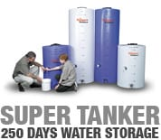 Super Tanker water storage