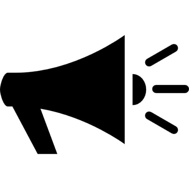 Voice Speaker Megaphone Icon